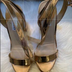 Steve Madden Rose gold Shoes
